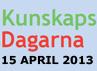Läs mer om Kunskapsdagarna 2013 »